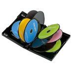 サンワサプライ DVDトールケース(10枚収納・3枚パック・ブラック) DVD-TW10-03BK 返品種別A