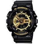 カシオ (国内正規品)G-SHOCK Black×Gold Seriesメンズ クオーツ GA-110GB-1AJF 返品種別A