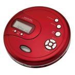 コイズミ ポータブルCDプレーヤー (レッド) KOIZUMI SAD-3902-R 返品種別A