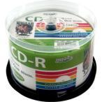HIDISC データ用700MB 52倍速対応CD-R 50枚パック ホワイトプリンタブル ハイディスク HDCR80GP50 返品種別A