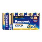 パナソニック アルカリ乾電池単1形 4本パック Panasonic EVOLTA LR20EJ/ 4SW 返品種別A