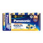 パナソニック アルカリ乾電池単2形 4本パック Panasonic EVOLTA LR14EJ/ 4SW 返品種別A