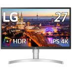LG [27型 HDR対応4Kモニター(3840×2160) IPS/ HDR10/ 高さ調整/ ピボット/ FreeSync/ DAS Mode/ HDMI2.0準拠 IPS 4Kモニター 27UL550-W 返品種別A