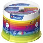 バーベイタム データ用48倍速対応CD-R 50枚パック 700MB ホワイトプリンタブル SR80SP50V1 返品種別A