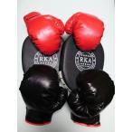 パンチング グローブ 親子セット & ミット セット ボクシング ボクササイズ トレーニング フィットネス