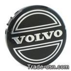 VOLVO ボルボ 240 純正ホイールセンターキャップ(ブラック) (6W1002)