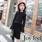 韓国子供服 スカート セットアップ フリル袖 長袖トップス 女の子
