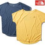 ノースフェイス レディース Tシャツ ショートスリーブ リアクションロゴクルー アウトドア NTW61982
