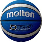 モルテン Molten アウトドアバスケットボール7号球 ブルー×シルバー バスケット ボール B7D3500BS 取寄