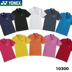 [テニス/バドミントン/ウェア/ユニ] ヨネックス(YONEX) ゲームシャツ ポロシャツ(スタンダードサイズ) 10300