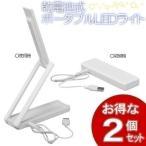 アウトレット 2個セット 乾電池式ポータブルLEDライト アイリスオーヤマ 防犯灯 防犯ライト LSM-55 人気