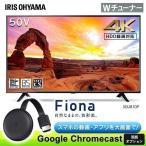 テレビ 50型 アイリスオーヤマ 4K 4Kテレビ 液晶テレビ 50インチ ブラック 50UB10P:予約品