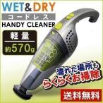 軽量 掃除機 コードレス Wet&Dry ハンディ クリーナーPico VS-6003 ガンメタ