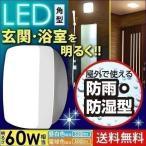 LEDポーチライト 照明 天井 屋外 防水 浴室灯 防湿 バスルームライト 玄関 角型 CL5N-SQPLS-BS・CL5L-SQPLS-BS アイリスオーヤマ