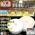センサーライト 屋内 LED 照明 人感センサー 乾電池式 明るい マルチタイプ BSL40MN-W・BSL40ML-W アイリスオーヤマ