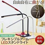 デスクライト LED スタンドライト シンプルデザイン ODS-L14G-W
