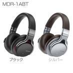 ショッピングbluetooth ワイヤレスステレオヘッドセット MDR-1ABT-B ブラック SONY