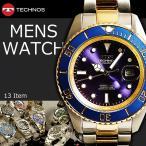 腕時計 メンズ メンズウォッチ クロノグラフ TECHNOS テクノス(在庫処分)