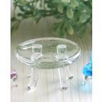 ガラス細工 ミニチュア 雑貨 置物   テーブル