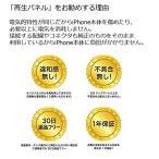 SmaQ再生パネル iPhone専用 修理パーツ 交換用液晶フロントパネル デジタイザ (iPhone6 黒)