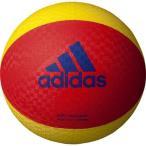 アディダス ソフトバレーボール 赤色×黄色 AVSRY <2020CON>