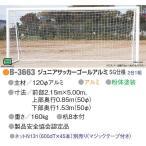 アカバネ 体育器具 学校 ジュニアーサッカーゴール 120Φアルミ SG仕様 2台1組 ネット別売り B-3663 <2019CON>