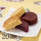 安納芋と紫芋のスイートポテト風月堂 薩摩芋菓子 ぼっけもん 20個  常温