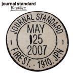 journal standard Furniture ジャーナルスタンダードファニチャー JSF STAMP RUG BEIGE JSFスタンプ ラグマット ベージュ 直径73cm B009KCMMYQ