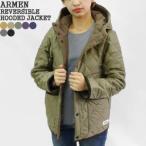 2021AW アーメン/ARMEN ナイロン×フリースリバーシブルフード付きジャケット キルティングジャケット NAM1752 レディース メンズ