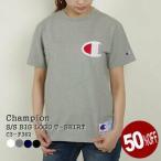 チャンピオン/CHAMPION ショートスリーブビッグロゴ刺繍Tシャツ 半袖Tシャツ C3-F362 レディース メンズ