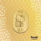 [受注生産]新年号記念【Hello Kitty】令和 平成 ハローキティ 純金 小判 10g 招き猫 縁起物 K24【送料無料】