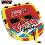 【NEW】 WOW ワオ new BIG BUBBA ニュー ビッグブッバ 【最大定員2名】 W17-1050 ウォータートーイ バナナボート トーイングチューブ 水上バイク ボート