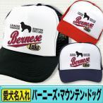 バーニーズマウンテンドッグ グッズ 犬 名入れ ドッグ ネーム キャップ 帽子 オーナーグッズ リーグチャンプ柄 バーニーズマウンテンドッグ