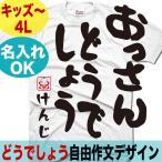 おもしろTシャツ メンズ 水曜 どうでしょう パロディ オリジナル 名入れ 製作 プレゼント 父の日 敬老の日 母の日 誕生日 大きいサイズ XXXL キッズ Tシャツ