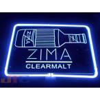 ZIMA ジーマ BAR  特大 3D ネオン看板 インテリア コレクション ネオンサイン 広告 店舗用 NEON SIGN アメリカン雑貨 看板 ネオン管