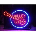 【納期2~3週間】F139 Valley Arts Guitars ギター 広告 店舗用 アメリカン雑貨 看板 ネオン管 ネオンサイン
