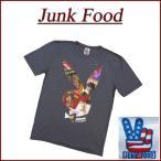 JUNK FOOD 日本別注 USA産 プレイボーイ カバーガール 半袖 Tシャツ ジャンクフード
