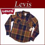 Levi's リーバイス USライン 長袖 チェック フランネル ウエスタンシャツ
