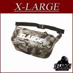 X-LARGE エクストララージ コーデュラ ファブリック デザートカモ ウエストバッグ