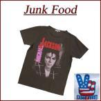 JUNK FOOD ジャンクフード USA産 MICHAEL JACKSON BAD TOUR88 マイケル・ジャクソン 半袖 バンド Tシャツ