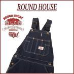 ショッピングオーバーオール ROUND HOUSE ラウンドハウス USA製 クラシックブルー デニム オーバーオール Lot980