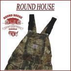 ショッピングオーバーオール ROUND HOUSE ラウンドハウス USA製 リアルツリー カモフラージュ オーバーオール Lot851