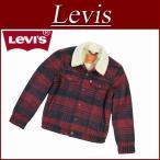 Levi's リーバイス USライン サードタイプ 裏パイルボア ウール混 チェック柄 ジャケット