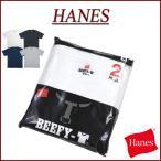 Hanes ヘインズ BEEFY Tee ビーフィー 半袖 無地 2枚組 クルーネック パックTシャツ H5180-2