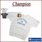 Champion チャンピオン ランナーズタグ 染込みプリント 半袖 スウェットシャツ C3-H311