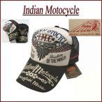 INDIAN MOTOCYCLE ウイングアロー刺繍 ツイル地 メッシュキャップ IMCP-605 インディアンモトサイクル