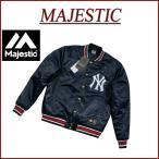 ショッピングスタジャン MAJESTIC マジェスティック ニューヨーク ヤンキース ナイロンサテン スタジャン NYK0049