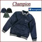 Champion チャンピオン ロゴ刺繍 サテン スタジャン C3-J619