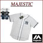 MAJESTIC マジェスティック ニューヨーク ヤンキース ピンストライプ ラグランスリーブ ベースボールシャツ