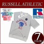 Russell Athletic ラッセル ラグランスリーブ 半袖 プリント スウェットシャツ RC1542B